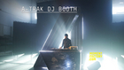 A-Trak DJ booth