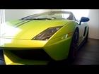 Lamborghini Gallardo LP570-4 Spyder Performante Verde Ithaca Interior, Exterior Detail Overview