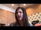 TRON: UPRISING Tricia Helfer interview at San Diego Comic-Con 2012 Walt Disney XD animated