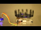 Stroboscope using Arduino and a spindle motor of a DVD drive