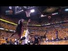 LeBron James Amazing Block George Hill |Heat vs Pacers|May 28, 2013|Game 4|NBA Eastern Finals