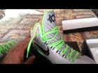 My nike id kd v and lebron x
