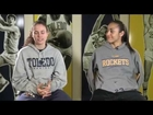 Toledo Athletics - Rocket Spotlight: Naama Shafir & Inma Zanoguera