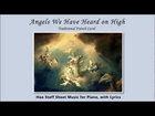 Angels We Have Heard on High - Easy Piano Video Sheet