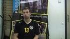 Clément Bleuze, capitaine du Plessis-Robinson Volley-Ball (septembre 2013)
