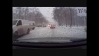 Car Crashes Best Compilation - Snow drivers!