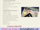 Free Credit Cards Fresh CC Cvv Hacked CC Fullz info