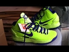 Nike Kevin Durant KD V  highlighter yellow/blue from 【yeezygo.com 】