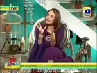 Nadia Khan Show - GEO Phir Mazay Se - 16th February 2013 - Part 2/2
